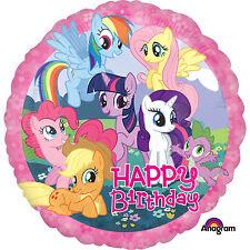 Amscan mi Pequeño Pony feliz Cumpleaños Foil Globo Estándar