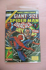 9.4 Nm Near Mint Giant Size Spider-Man & Dracula # 1 German Euro Variant W/Owp