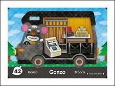 42 - Gonzo / Heribert - Animal Crossing - Mini NFC welcome amiibo Karte