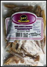 Dried Anchovy (with Head/Crystal) - 200g (Free UK post)