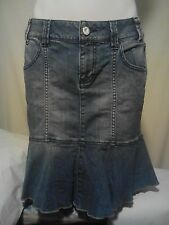 DKNY Jeans Ladies Skirt in Blue Denim Size 6