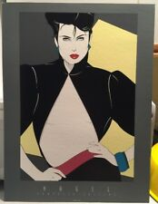 Art Deco Poster//Print//French Female Mannequin//Frozen in Time//I7x22 in