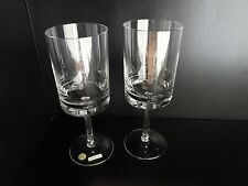 VINTAGE ICHENDORF CRYSTAL WINE WATER GOBLETS GLASSES MID CENTURY WESTERN GERMANY