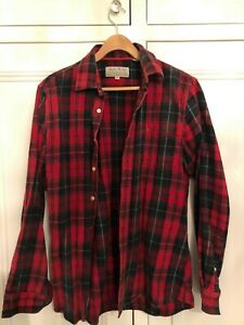 Mens Jack Wills Plaid Flannel Shirt - Size M