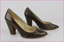 Escarpins TEXTO Cuir Marron T 38 TBE