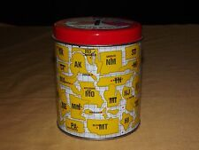 VINTAGE NIFTY 50 UNITED STATES TIN CAN BANK