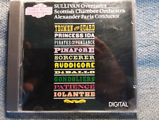 CD SULLIVAN Overtures - Scottish Chamber Orch - Alexander Faris - Nimbus Records