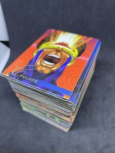 1995 Marvel Flair Annual Trading Cards INCOMPLETE BASE SET, #1-150  84 Cards