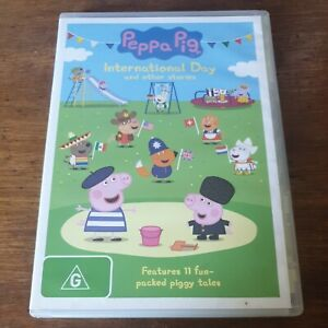 Peppa Pig International Day DVD R4 Like New! FREE POST