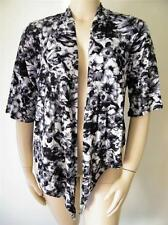 LADIES SIZE 20 FLORAL PRINTED OPEN TIE FRONT SHRUG CARDIGAN  NEW WITH TAG