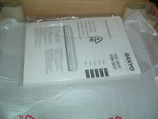 SANYO VQC 801P CCTV QUAD COMPRESSOR 220-240VAC C/W MANUAL NEW BOXED