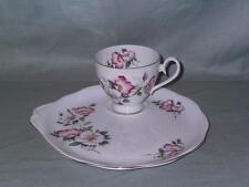 RICHMOND Cina TEA CUP & Buffet Piastra TV Snack Rosa Wild Rose Pattern