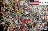 500 Random Skateboard Stickers Vinyl Laptop Luggage Decals Dope Sticker Lot Mix
