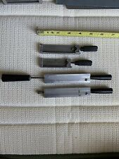 4 Assorted Kingsley Hot Foil Stamping Machine Single Line Type Holders 18 Pt