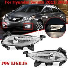 For 2011 2012 2013 Hyundai Sonata 2.0T Front Bumper Halogen Clear Fog Light Lamp