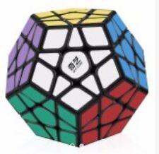 QiYi QiHeng Megaminx Speed Rubik's Cube Black