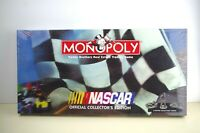 1997 Monopoly NASCAR Official Collector's Edition Parker Brothers SEALED
