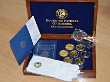 The Franklin Mint - Founding Fathers of America - Orignial Paperwork & Packaging