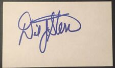 David Stern Signed 3x5 Index Card NBA Commisioner Proof