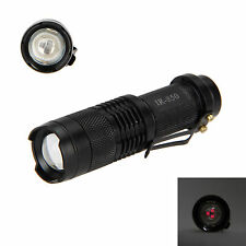 Zoomable 5W Infrared IR Light Flashlight Hunting Illuminator Torch Lamp 850nm NV