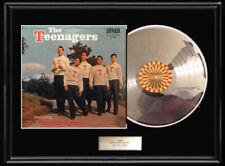 Frankie Lymon Teenagers Rare White Gold Silver Metalized Record Lp Vinyl Album