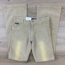 Guess Beige Corduroy Boot Cut Size 5/6 Women's Jeans Actual W28 L32.5 R8 (CD12)
