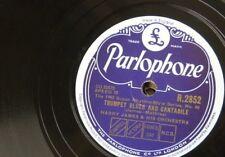 78rpm HARRY JAMES trumpet blues / concerto for trumpet