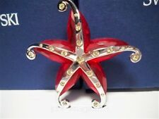 SWAROVSKI CRYSTAL CREMONA STARFISH BROOCH 626211 RETIRED BNIB