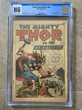 Journey Into Mystery #84 CGC OW/W 1st App. Jane Foster! 2nd App Thor 1962 Marvel