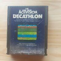 Atari 2600 Decathalon Video Game Cartridge Activision 1983