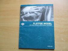 Service manual supplement Harley-Davidson FLSTFSE 2005 WERKSTATTBUCH complément