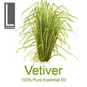 VETIVER 100% PURE ESSENTIAL OIL 10ML AROMATHERAPY GRADE