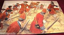 Military Uniforms Blenheim 1704 The Foot Guards  Large Postcard