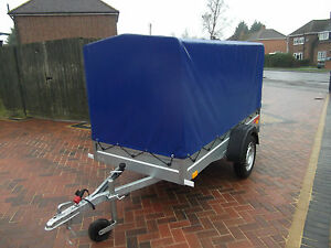 New Trailer - 120 cm Floor to Top COVER Car Camping BOX 8FTx4FT  2,50 x 1,12 m !