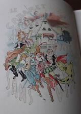 1891 Le cabaret du puits sans vin Morin Illustré Humour Conte bibliophilie