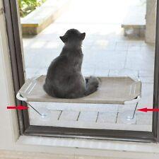 360° Sunbath Lower Support Safety Iron Cat Window Perch Hammock, Seat Large