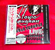 Stevie Ray Vaughan In The Beginning JAPAN MINI LP CD EICP-1179