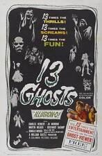 13 GHOSTS Movie POSTER 27x40 B Charles Herbert Jo Morrow Martin Milner Rosemary