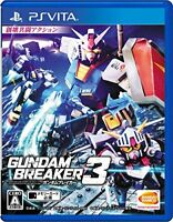 USED PSVITA Gundam Breaker 3