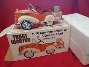 Trustworthy 1940 Gendron Pedal Car Bank with Custom Load #6 in series 1/6 scale
