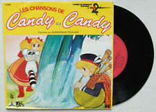 CANDY-CANDY, 45T 7'' record, Disques Ades 1979, Poulain 11.032 POL 100, キャンディ・キャ