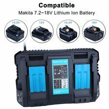 Pour Makita Batterie DC18RD Li-ion LXT 7.2v-18v Chargeur Rapide Dual Port