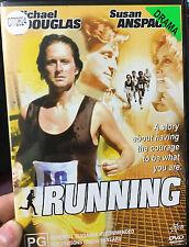 Running ex-rental region 4 DVD (1979 Michael Douglas sports movie) VERY RARE