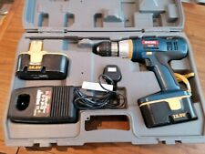 Ryobi 18v cdi 1801 hammer drill plus charger and 2 batteries.