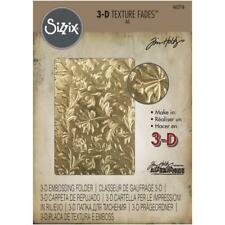 Tim Holtz Texture Fades 3D Embossing Folder by Sizzix - Botanical - NEW!