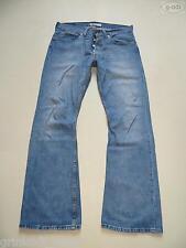Levi's® 512 Bootcut Jeans Hose W 34 /L 32, Vintage Washed Denim Waschung, RAR !