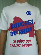 Superbe t-shirt BOUCHES-DU-RHÔNE craint dégun PHOCEEN MARSEILLE AIX-EN-PROVENCE