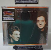 ACOUSTIC ALCHEMY - THE VERY BEST OF ACOUSTIC ALCHEMY NEW CD FREE SHIPPING!!