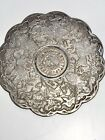 Hispaniarum+Rex+Coin+Spanish+Reale+6+silver+Coasters+Vintage+Knights+Heraldic