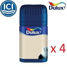 4 x Dulux® Paint Compact Wall Ceiling Matt Emulsion Fast Colour Decorating 50ml